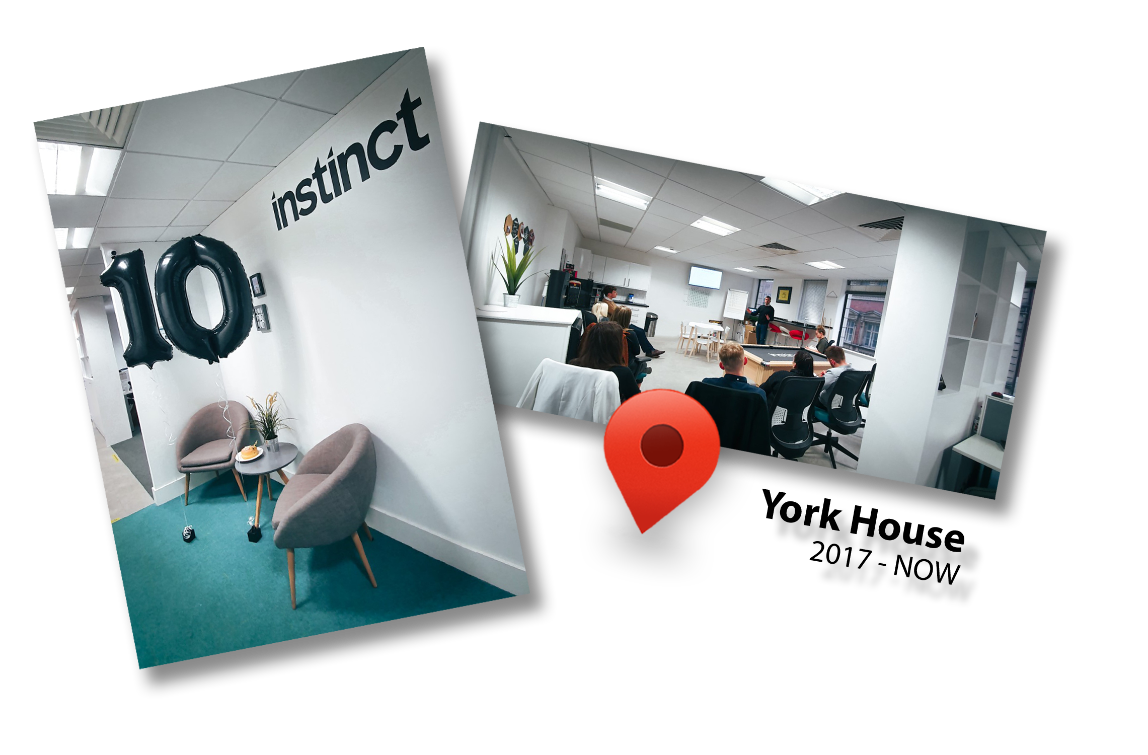 Instinct Resourcing's current office - York House, York Street, Manchester